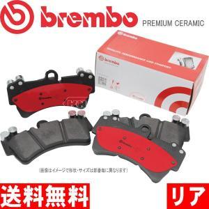 超低ダスト ブレーキパッド MINI ミニ クラブマン (R55) クーパー ML16 ブレンボ セラミックパッド P06 052N リア|kn-carlife