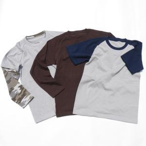 型紙 子供 スリーウェイラグランTシャツ ニット生地向けカット済みパターン|knit-yamanokko