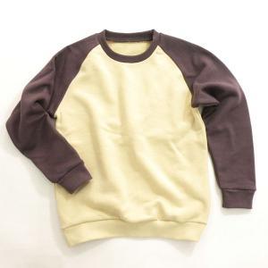 型紙 子供 ラグラントレーナー ニット生地向けカット済みパターン|knit-yamanokko