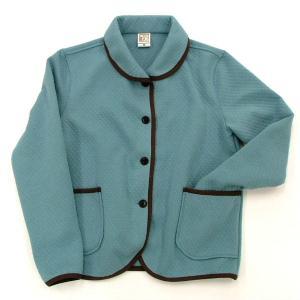 型紙  レディース パイピングジャケット ニット生地向けカット済みパターン|knit-yamanokko