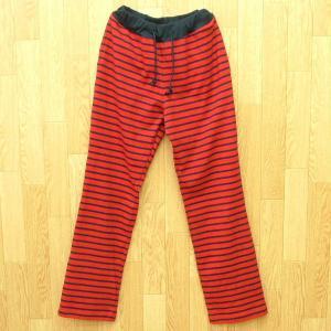 型紙  レディース リラックスパンツ ニット生地向けカット済みパターン|knit-yamanokko