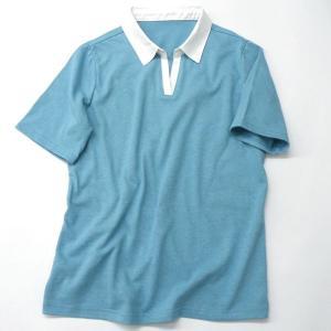 型紙  レディース 台付き衿スキッパー半袖&長袖 ニット生地向けカット済みパターン|knit-yamanokko