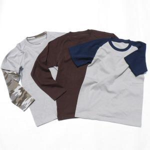 型紙  メンズ・男女兼用 スリーウェイラグランTシャツ ニット生地向けカット済みパターン