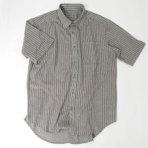 型紙  メンズ 半袖前開きシャツ ニット&布帛 カット済みパターン