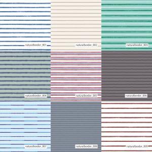 「ナチュラルボーダー100種」接触冷感シャインクールリバーシブルメッシュ(1mカット全面プリント) ニット生地 UVカット 消臭 クール生地|knit-yamanokko