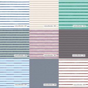 「ナチュラルボーダー100種」吸水速乾・帯電防止ダブルメリットメッシュ(1mカット全面プリント) ニット生地 裏地|knit-yamanokko