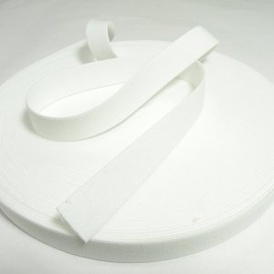SOPスーパーベルト(平ゴム)20mm巾 ホワイト|knit-yamanokko