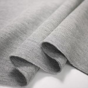 ニット生地 40/1ダンボールニット グレー杢 「アウタートップス、ボトムス向け」|knit-yamanokko
