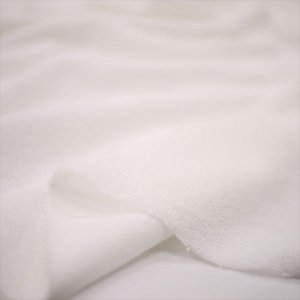T/C40パイル オフホワイト ニット生地|knit-yamanokko