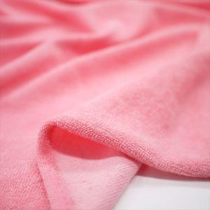 T/C40パイル フラミンゴピンク ニット生地|knit-yamanokko