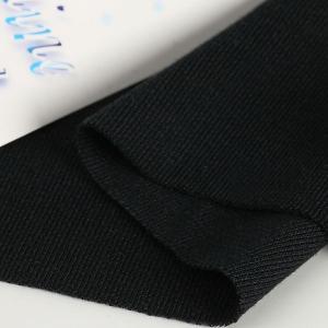 ニット生地 冷感 UV シャインクール40スムース ブラック...