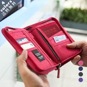 パスポートケース/マルチケース/カードケース/メンズ/レディース/パスポート入れ/財布/チケット/大容量/通帳収納/トラベルケース/便利/おしゃれ/|knit