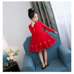 子供ドレス 女の子 ハロウィン 演唱会 発表会,卒園式,結婚式,七五三キッズワンピース 春秋着 長袖|knit