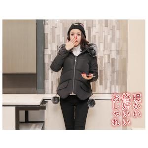 ダウンジャケット レディースコート 中棉コート アウターウエア ショート丈 フードつきコート 防寒 暖かい お洒落|knit