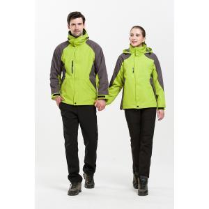 フリースジャケット メンズ レディース マウンテンジャケット セット スノースーツ ブルゾン 登山ウェア 防風 透湿 保温 防水 防寒着 アウトレット|knit