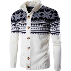 2018新しい秋の冬カーディガン男性ファッションカジュアルセーターニットスリムフィット高品質|knit
