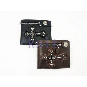 財布 メンズ バッグ 男性用 スケルトン 十字架 パンク 欧美風GBB198|knit