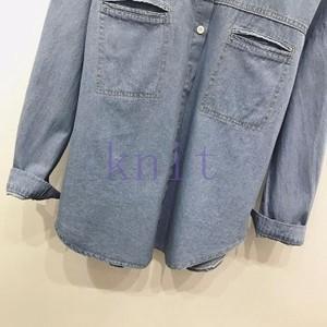 シャツ レディース 新品 春秋 上着 可愛い 通勤 お出かけ ファッションGNZ-160|knit