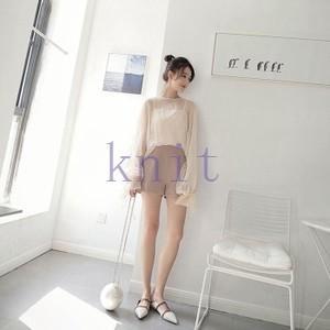 ショットパンツ ボトムズ レディース ズボン 韓国風 春 韓国風GNZ-220|knit
