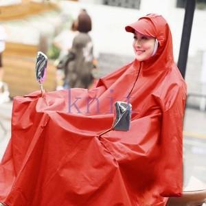 レインコート レディース メンズ 自転車用 レインポンチョ 合羽 バイク 雨具 カッパ レインウェア レイングッズ アウトドア 雨の日グッズGYX-AL173 knit