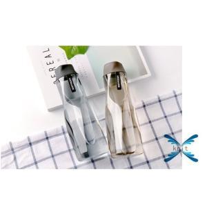 水筒 直飲み プラスチックボトル 水筒 軽い 便利 オシャレ スポーツ 運動|knit
