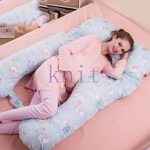 抱き枕 抱かれ枕 マタニティ まくら 多機能 妊婦 U型枕 ボディピロー 抱きまくら 妊婦用 クッション マタニティ枕 サポートクッションJFYD-AL265|knit
