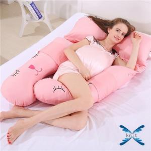 抱き枕  マタニティ まくら 多機能 妊婦 U型枕 ボディピロー 抱きまくら 妊婦用 クッション マタニティ枕 サポートクッション|knit