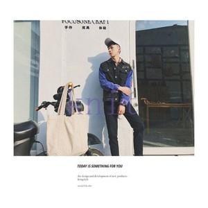 ジャケット デニムジャケット アウター メンズ 秋物 新作 通勤 カジュアル 長袖 おしゃれ  ゆったりJNVQ-AL117|knit