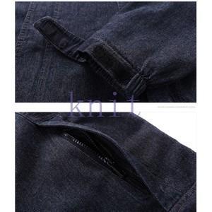 ジャケット デニムジャケット アウター メンズ 秋物 新作 通勤 カジュアル 長袖 おしゃれ  ゆったり フード付きJNVQ-AL123|knit