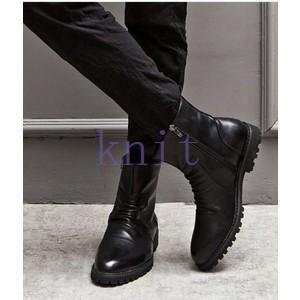 ブーツ メンズシューズ ショートブーツ 秋冬 新作 革靴 ブーツ シューズ メンズブーツ オシャレ JNVQ-AL1327|knit