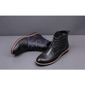 ブーツ メンズシューズ ショートブーツ 秋冬 新作 ブーツ シューズ メンズブーツ オシャレ  ビジネス 通勤JNVQ-AL1413|knit