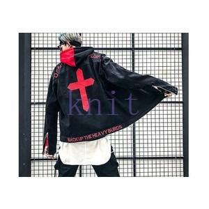 ジャケット デニムジャケット アウター メンズ 秋物 新作 通勤 カジュアル 長袖 おしゃれ  ゆったり 刺繍JNVQ-AL167|knit