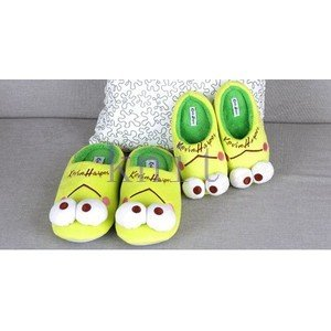 ルームシューズ スリッパ キッズ 子供靴 シューズ 室内履き ボアスリッパ 女の子 男の子 もこもこ あったか 冬 可愛い 室内用 秋冬JTXQ3-AL282|knit