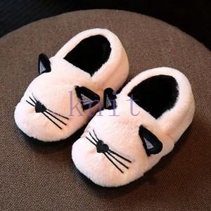 ベビーシューズ 子供靴 ルームシューズ スリッパ キッズ 室内履き ボアスリッパ 女の子 男の子 もこもこ あったか 冬 可愛いJTXQ3-AL293|knit