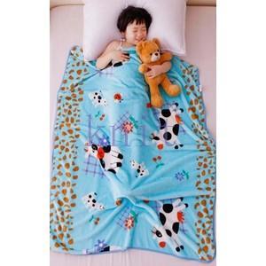 ブランケット 毛布 ベビー 子供用 キッズ用品 ボア ひさ掛け ふわふわ もこもこ あったか 暖かい 可愛いJYED-AL03|knit