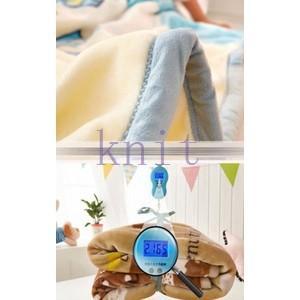 ブランケット 毛布 ベビー 子供用 キッズ用品 ボア ひさ掛け ふわふわ もこもこ あったか 暖かい 可愛いJYED-AL04|knit