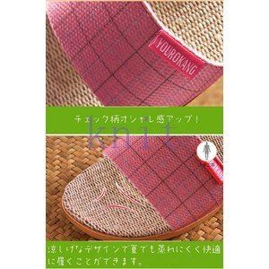 スリッパ レデイース メンズ カップル シューズ ルームシューズ 部屋履き 室内スリッパ 夏新作 上質JZAH-TB147|knit