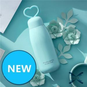 水筒 カップ 直飲み ステンレスボトル 水筒 魔法瓶 かわいい 韓国風 オシャレ 保冷保温 可愛い|knit