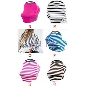 授乳ケープ 授乳カバー マタニティ 授乳服 ベビー 赤ちゃん 産後 便利グッズ おしゃれ ストライプJZAH2-AL09|knit