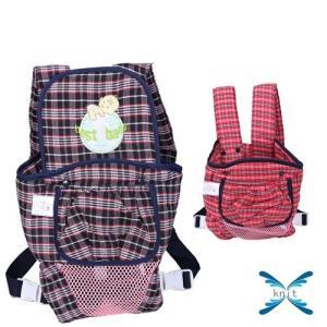 ベビースリング 多機能 新生児 赤ちゃん 抱っこひも おんぶ紐 ベビービョルン 赤ちゃん 新生児 チェック柄 通気|knit