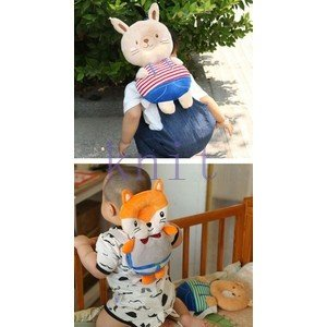 赤ちゃん ベビー 頭 保護 転倒防止 セーフティー リュック 歩行練習 保護 子供 幼児 安全 可愛いJZAH4-AL412|knit