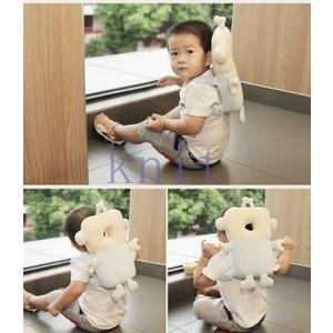 赤ちゃん ベビー 頭 保護 転倒防止  セーフティー リュック 歩行練習 保護 子供 幼児 安全 可愛いJZAH4-AL415|knit