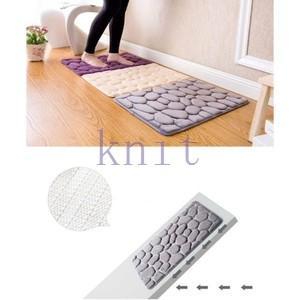 カーペット マット ラグマット 洗える すべりにくい加工 オシャレ 可愛いJZAHQ-AL359 knit