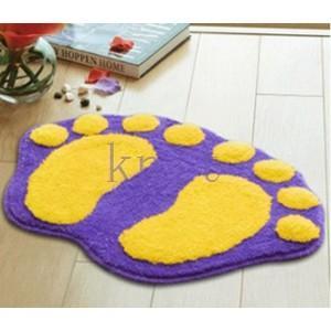 カーペット マット ラグマット 洗える すべりにくい加工 オシャレ 可愛い 浴室JZAHQ-AL366 knit