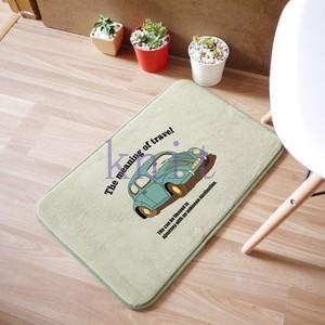 カーペット マット ラグマット 洗える すべりにくい加工 オシャレ 可愛い 浴室JZAHQ-AL372 knit