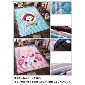 カーペット プレイマット ラグ ラグマット ベビー 子供部屋 子供用 キッズルーム お遊びプレイマット キャラクター 可愛いJZAHQ-AL378 knit