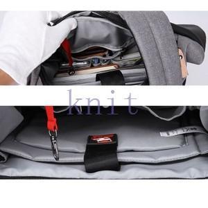 リュックサック メンズ バッグ リュック bag デイパック A4バッグ 機能的 大容量 通学 通勤 韓国風  ファッションNVBK7-AL103|knit