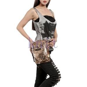 ウエストポーチ レディース メンズ レザー おしゃれ 2way レッグポーチ レッグバッグ カバン 鞄 bag ショルダーバッグ ヒップバッグNVBK7-AL230|knit