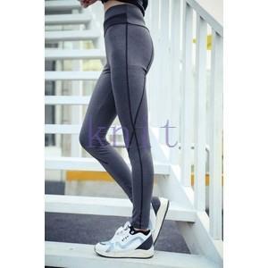 トレーニングウェア ヨガウェア スポーツウェア レディース フィットネス 二点セット 動きやすい ダンス ランニング 吸汗速乾 超軽量 レギンスYUD-AL17|knit