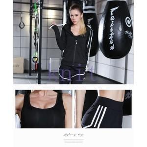 トレーニングウェア ヨガウェア スポーツウェア レディース フィットネス 三点セット 動きやすい ダンス ランニング 吸汗速乾 超軽量 レギンスYUD-AL32|knit